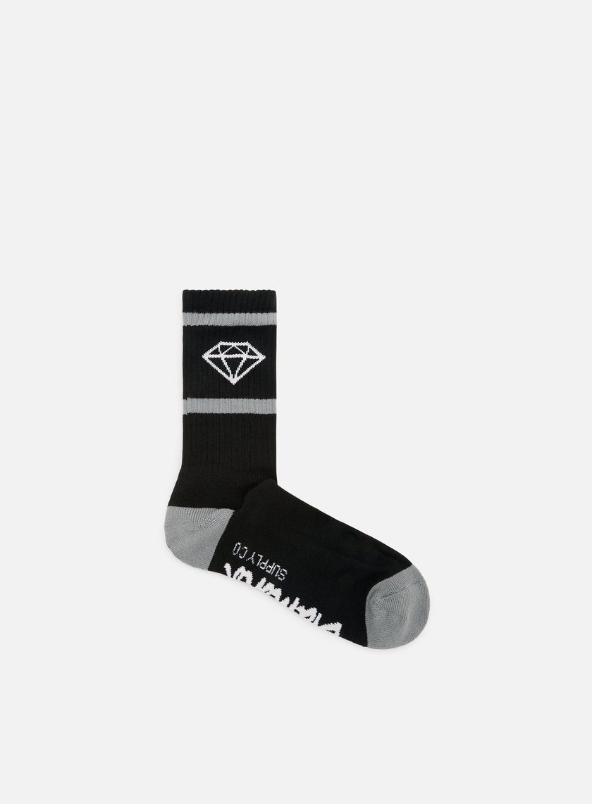 Diamond Supply - Rock Sport Socks, Black