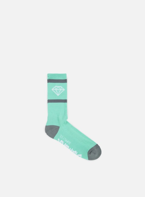 accessori diamond supply rock sport socks diamond blue