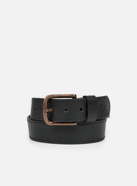 accessori dickies branchville leather belt black