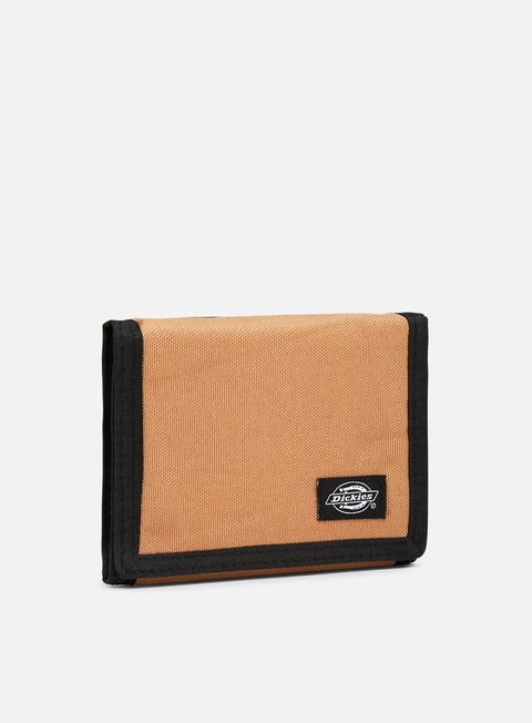 accessori dickies crescent bay wallet brown duck