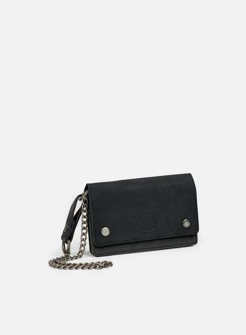 accessori dickies deedsville leather wallet black