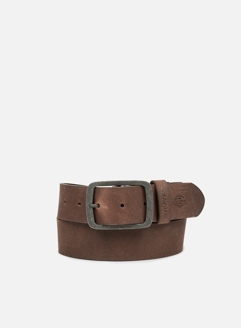 accessori dickies eagle lake belt brown