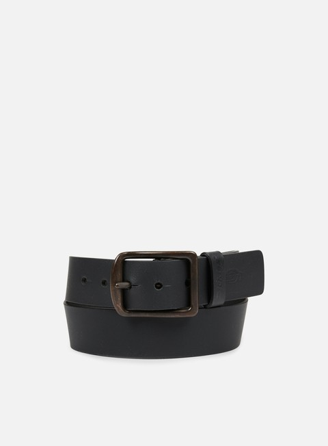 accessori dickies helmsburg leather belt black
