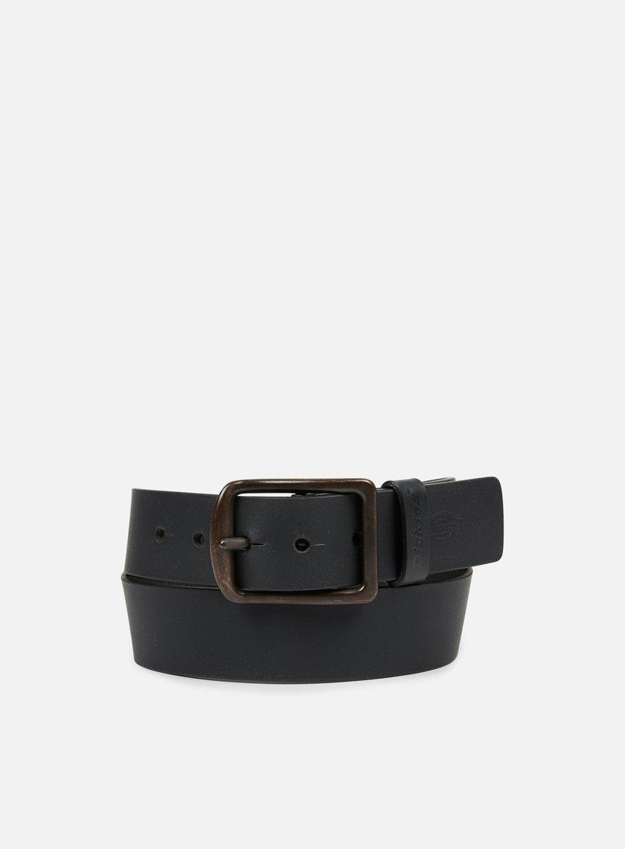 Dickies - Helmsburg Leather Belt, Black