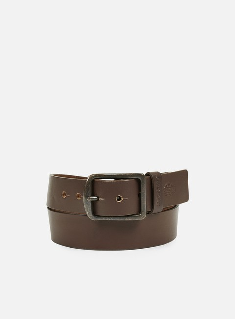 accessori dickies helmsburg leather belt brown