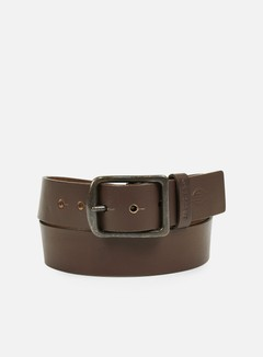 Dickies - Helmsburg Leather Belt, Brown OLD NO CHILD 1