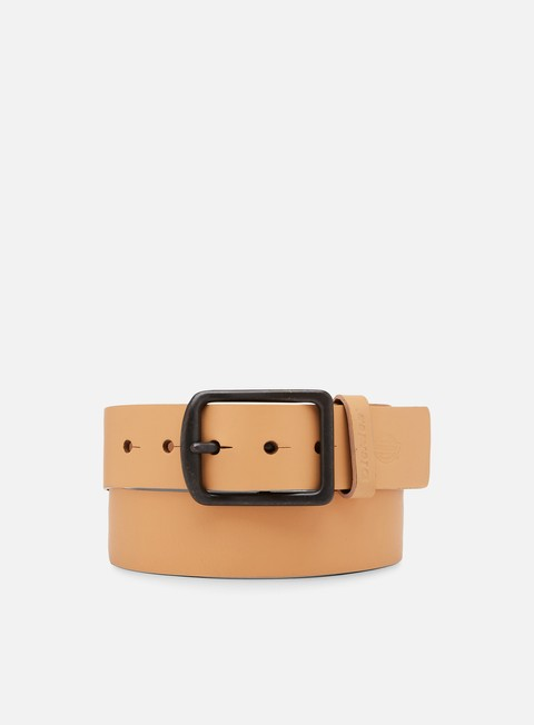 accessori dickies helmsburg leather belt natural
