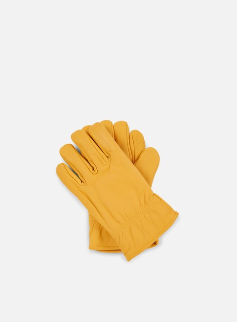 accessori dickies lined leather glove tan