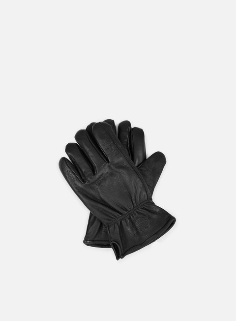 accessori dickies memphis leather glove black