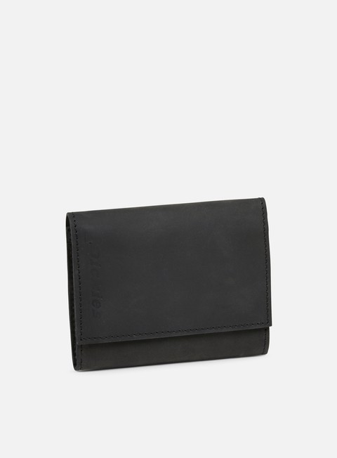 accessori dickies owendale leather wallet black