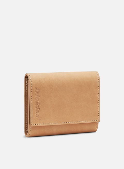 accessori dickies owendale leather wallet natural