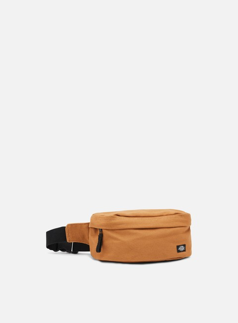 accessori dickies penwell canvas bum bag brown duck