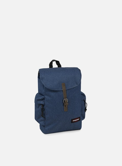 accessori eastpak austin backpack double denim