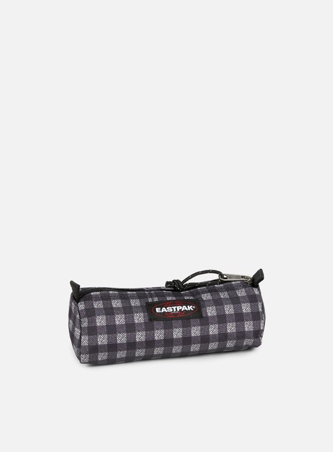 accessori eastpak benchmark pencil case checksange black