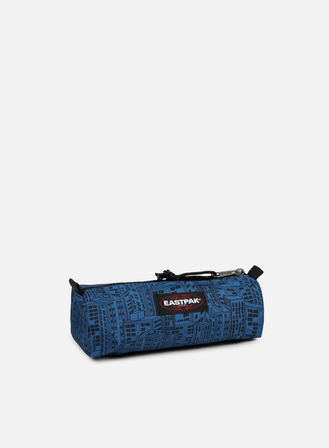 accessori eastpak benchmark pencil case navy blocks