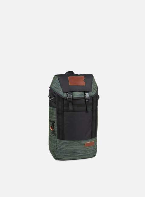 accessori eastpak bust backpack merge mix melange green