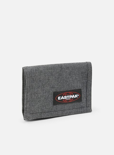 accessori eastpak crew wallet black denim