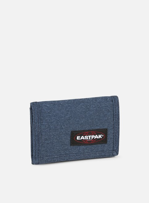 accessori eastpak crew wallet double denim