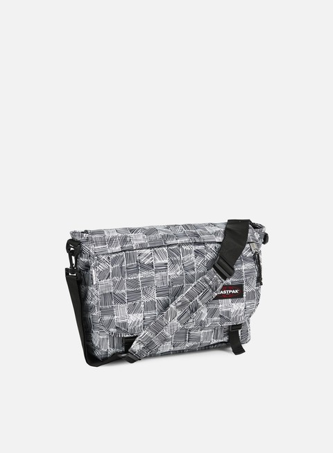 accessori eastpak delegate shoulder bag doodle check
