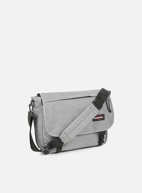accessori eastpak delegate shoulder bag sunday grey