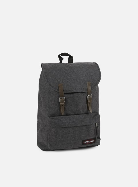 accessori eastpak london backpack black denim