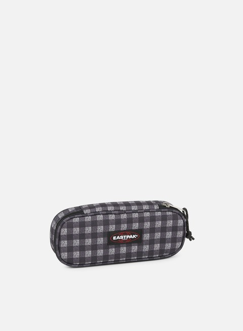 accessori eastpak oval pencil case checksange black