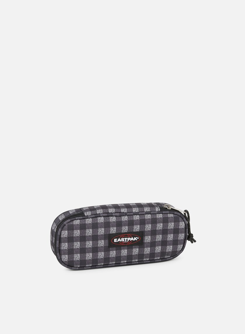 Eastpak - Oval Pencil Case, Checksange Black