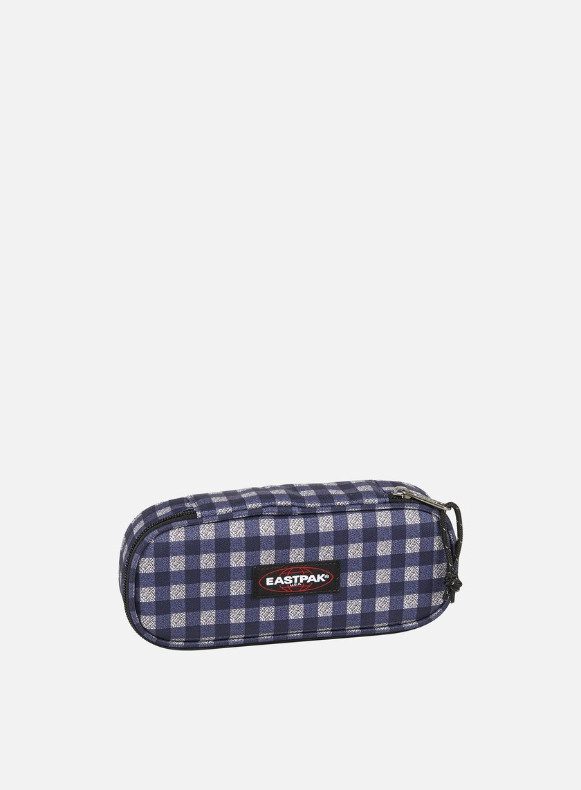 Eastpak - Oval Pencil Case, Checksange Blue