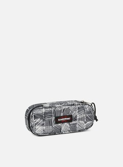 Eastpak - Oval Pencil Case,  Doodle Check