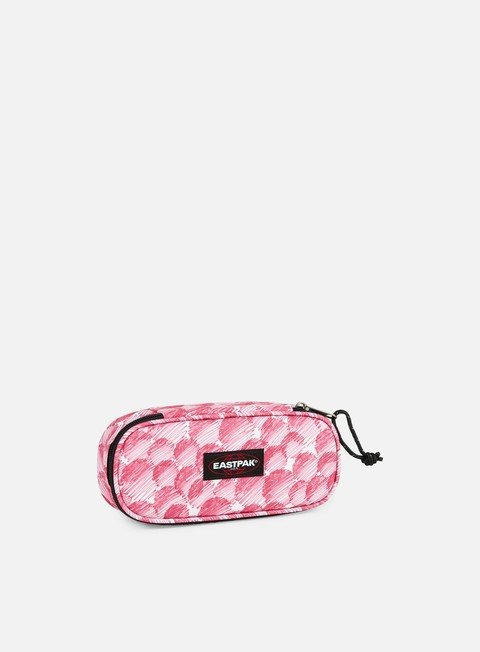 accessori eastpak oval pencil case doodle dot