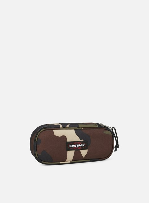 accessori eastpak oval single pencil case camo
