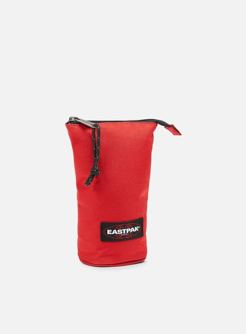 accessori eastpak oval up single pencil case apple pick red