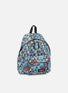 Eastpak - Padded Pak'r Backpack, Aqua Geo June 1