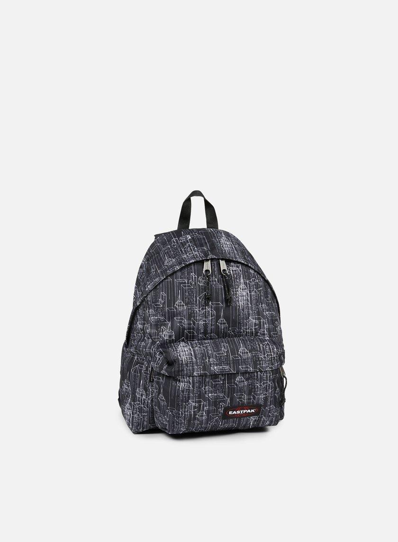 Eastpak - Padded Pak'r Backpack, Black Blocks