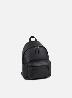 Eastpak - Padded Pak'r Backpack, Black Ink Leather