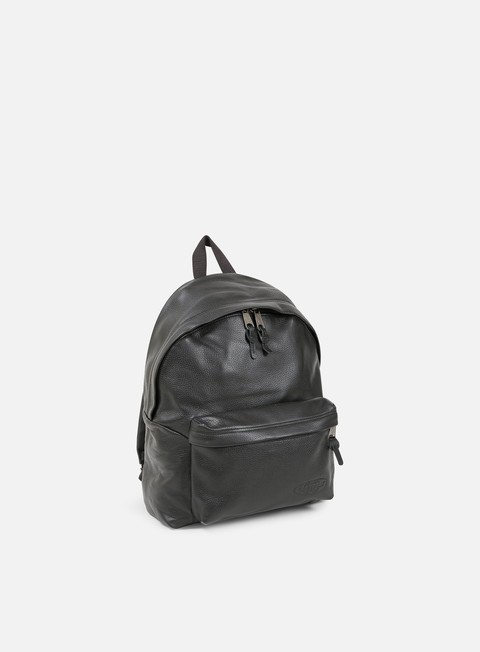 accessori eastpak padded pak r backpack black leather