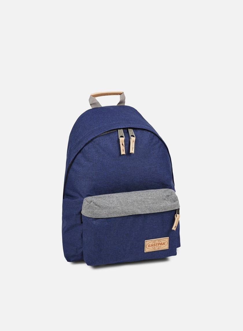 Eastpak - Padded Pak'r Backpack, Block Out Blue
