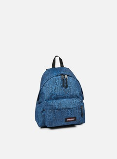 Eastpak - Padded Pak'r Backpack, Navy Blocks