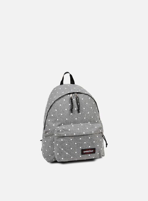 accessori eastpak padded pak r backpack white squares
