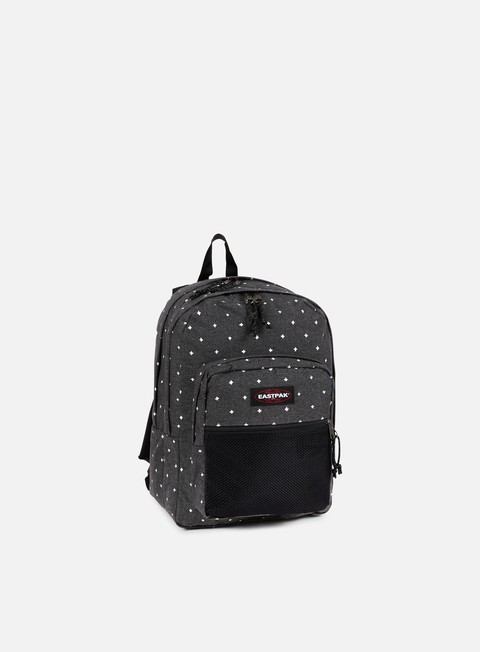 accessori eastpak pinnacle backpack white crosses
