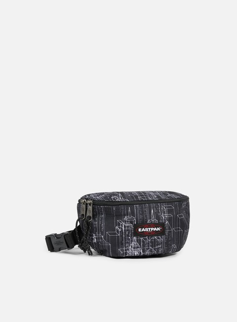 accessori eastpak springer bum bag black blocks