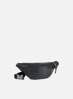 Eastpak - Springer Bum Bag, Black Ink Leather