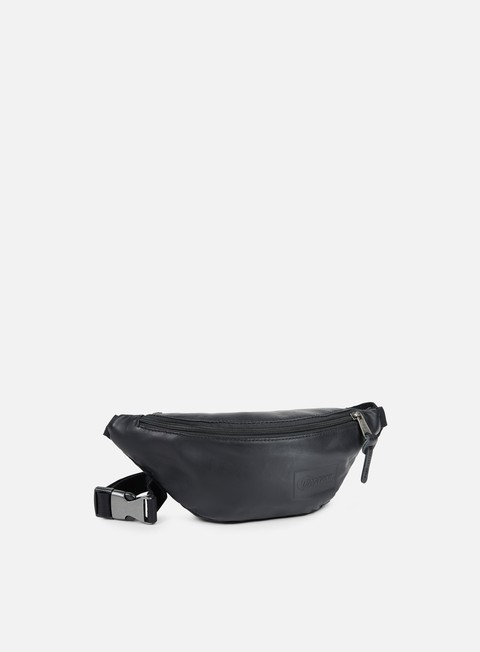 accessori eastpak springer bum bag black ink leather