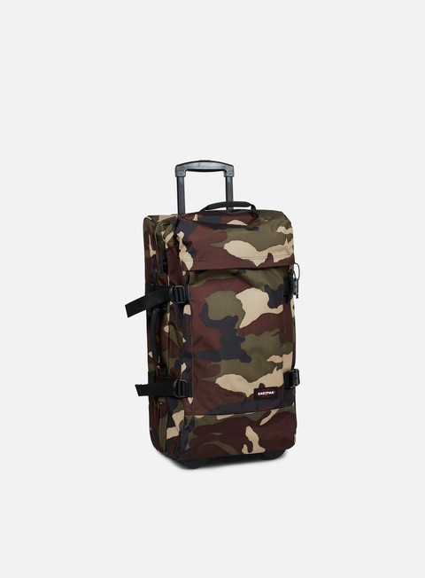 accessori eastpak tranverz travel bag medium camo