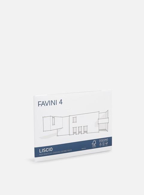 Blackbooks & supports Favini 4 Cartangoli 24x33 220 gr