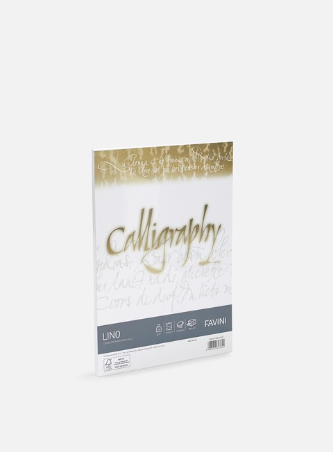 Blackbooks & supports Favini Lino Calligraphy A4 120 gr