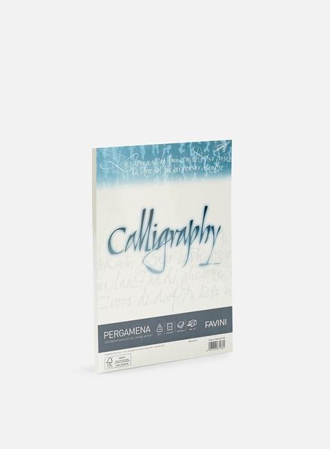 Blackbooks & supports Favini Pergamena Calligraphy A4 190 gr