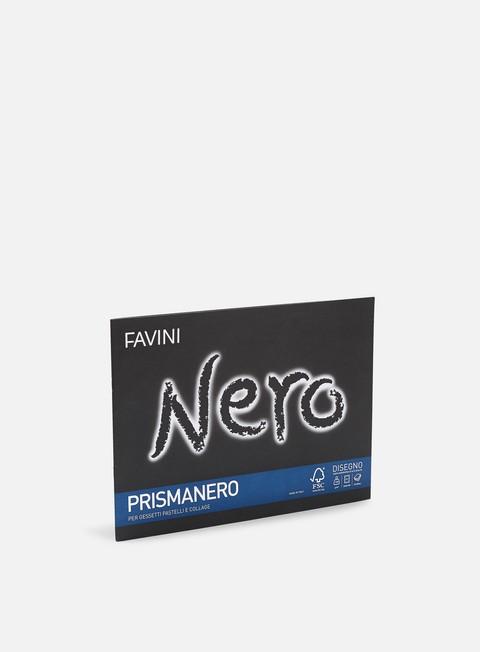 Blackbooks & supports Favini Prismanero 24x33 128 gr