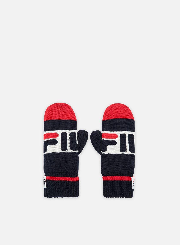 Fila Intarsia Knitted Mittens