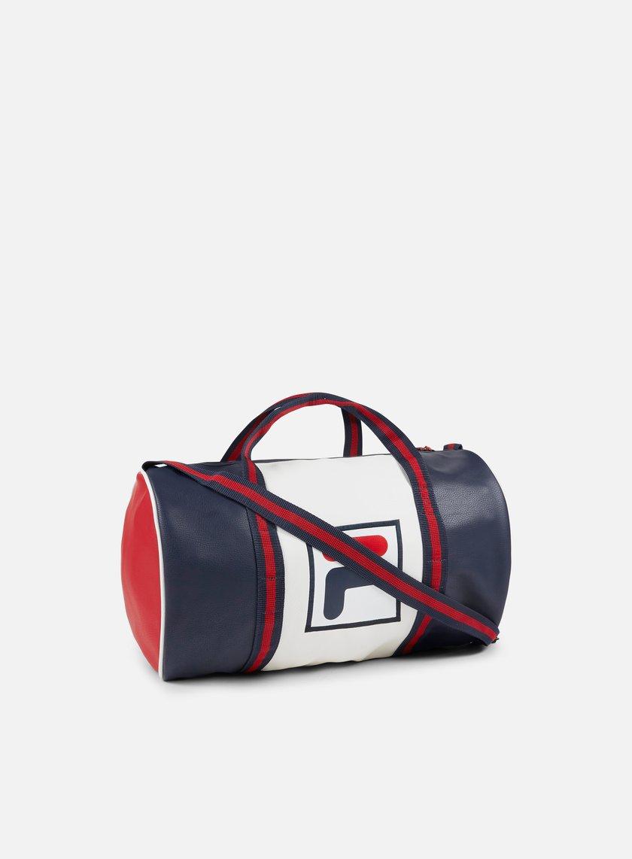 Fila - PU Barrel Bag, Color Blocking